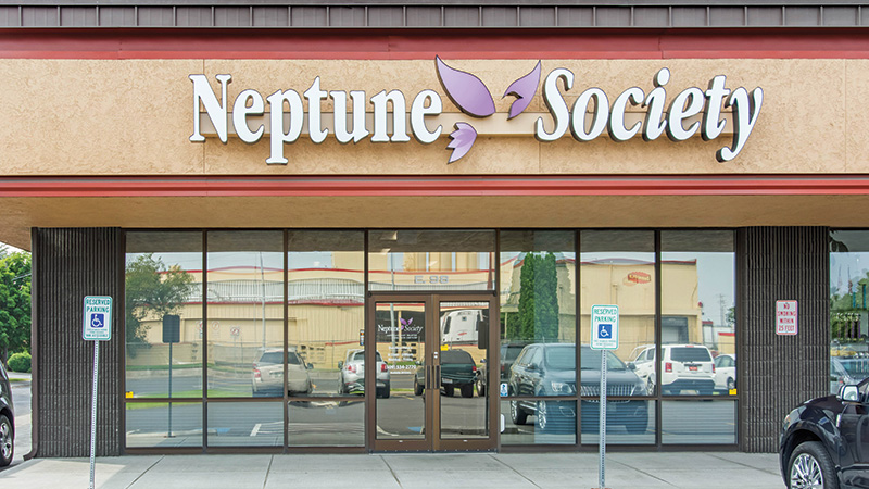 Neptune Society Spokane Washington Front entrance